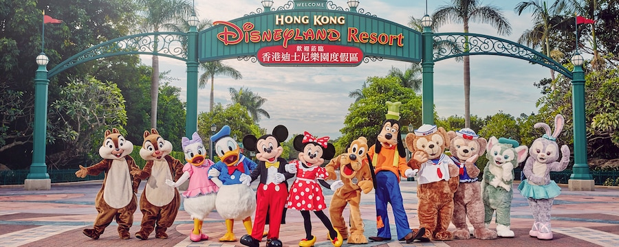 popular tourist spots in Hongkong