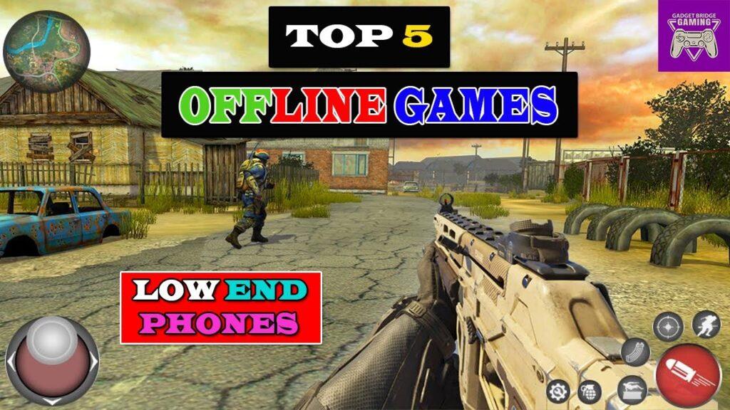 TOP 5 BEST OFFLINE GAMES 2021